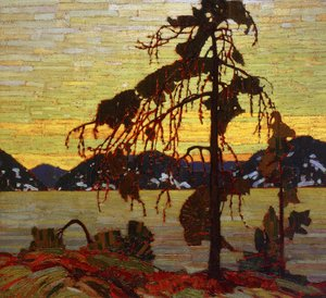 Group of Seven painting reproductions: The Jack Pine