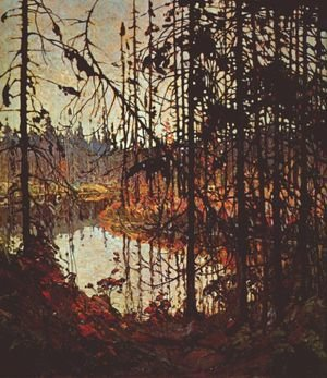 Group of Seven painting reproductions: Northern River