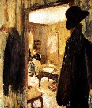 Nabis painting reproductions: Interior, 1900-04