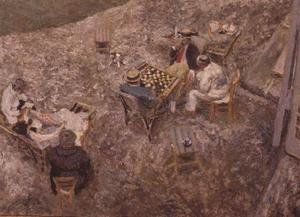 Famous paintings of Chess: The Checker Board