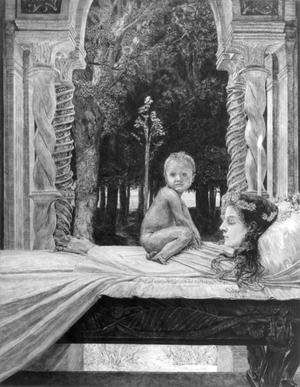 Max Klinger reproductions - Dead Mother, from the 'Of Death, Part Two' series, 1898