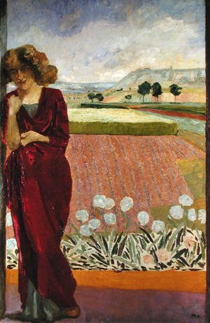 Reproduction oil paintings - Max Klinger - Spring, 1912