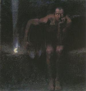 Famous paintings of Devils & Demons: Lucifer