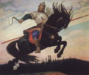 Famous paintings of Knights & Warriors: Ilya Muromets (1914)