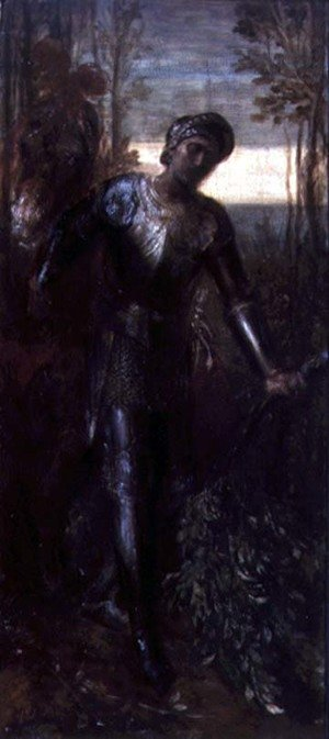 Famous paintings of Knights & Warriors: Sir Percival
