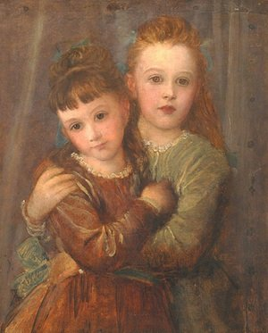 Reproduction oil paintings - George Frederick Watts - The Misses Gurney