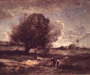 Reproduction oil paintings - Jean-Baptiste-Camille Corot - Memories of Picardie