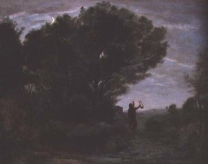Reproduction oil paintings - Jean-Baptiste-Camille Corot - Orpheus