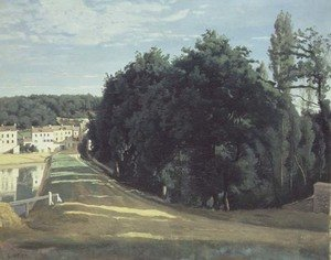 Reproduction oil paintings - Jean-Baptiste-Camille Corot - Ville D'Avray, c.1840