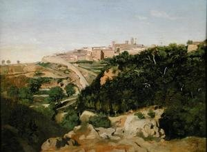 Reproduction oil paintings - Jean-Baptiste-Camille Corot - Volterra, 1834