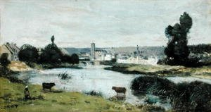 Reproduction oil paintings - Jean-Baptiste-Camille Corot - Les Chateaux