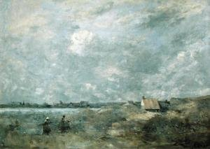 Reproduction oil paintings - Jean-Baptiste-Camille Corot - Stormy Weather, Pas de Calais, c.1870