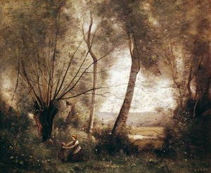 Reproduction oil paintings - Jean-Baptiste-Camille Corot - Landscape 2