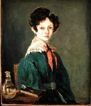 Reproduction oil paintings - Jean-Baptiste-Camille Corot - Mme Lemaistre