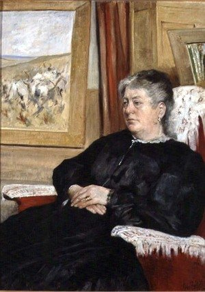 Portrait of the artist's wife, 1905