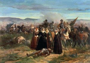 Mary Stuart at the Battle of Langside, May 1568