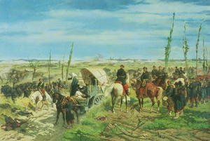 The Italian Camp at the Battle of Magenta, June 1859