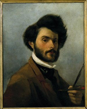 Self Portrait, 1854
