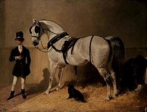 Famous paintings of Horses & Horse Riding: A St. James's Carriage Horse
