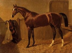 Realism painting reproductions: 'Orlando', Winner of the Derby in 1844
