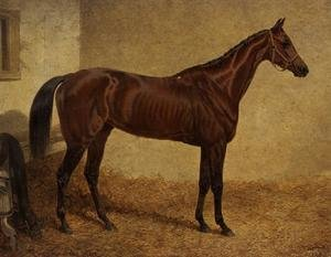 Realism painting reproductions: 'Crucifix', Winner of the St Leger