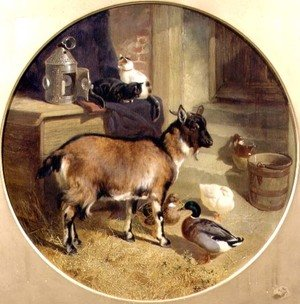 Famous paintings of Ducks: Nanny