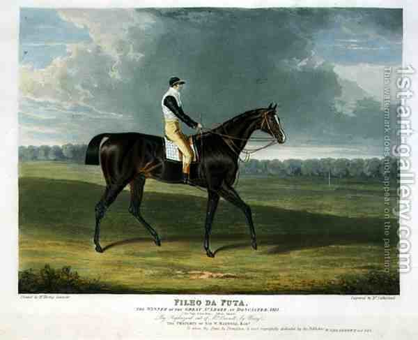 Huge version of 'Filho da Puta', the Winner of the Great St. Leger at Doncaster, 1815