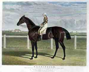 Realism painting reproductions: 'Rockingham', the Winner of the Great St. Leger Stakes at Doncaster, 1833