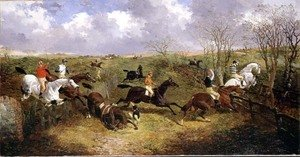 Famous paintings of Palisades: A Steeplechase