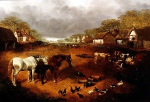 Famous paintings of Ducks: The Farmyard 2