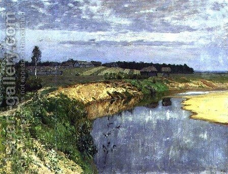 Silence by Isaak Ilyich Levitan - Reproduction Oil Painting