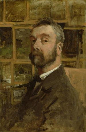 Reproduction oil paintings - Anton Mauve - Self portrait, c.1884