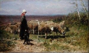 Reproduction oil paintings - Anton Mauve - Shepherdess
