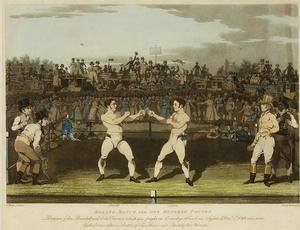 Famous paintings of Boxing: Boxing Match for One Hundred Pounds