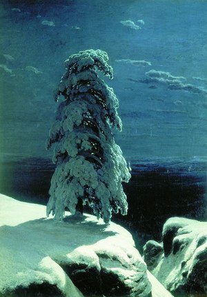 Naturalism painting reproductions: In the Wild North, 1891