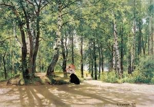 Naturalism painting reproductions: At the Summer Cottage, 1894