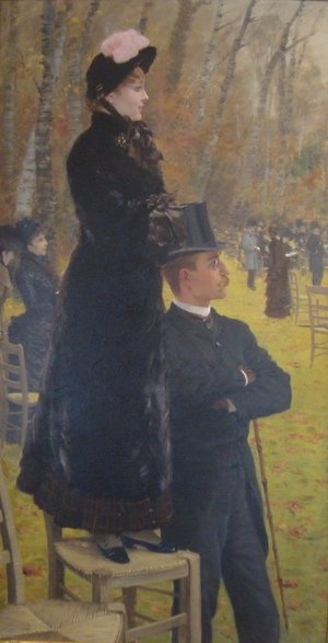 Famous paintings of Sport and Games: The Races at Auteuil, Paris