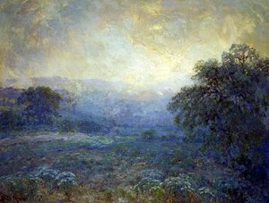 Reproduction oil paintings - Julian Onderdonk - Dawn in the Hills