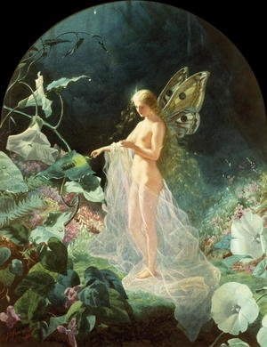 Famous paintings of Fairies: Titania, 1866