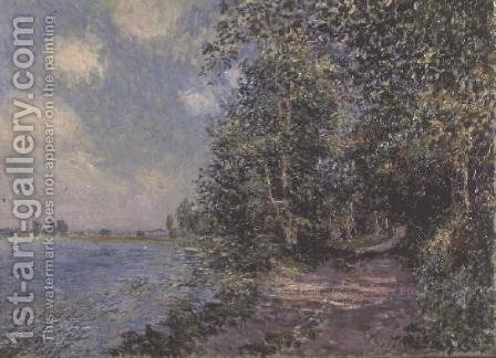 Veneux, August Afternoon, 1881 by Alfred Sisley - Reproduction Oil Painting