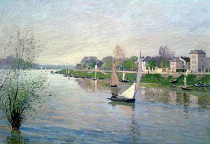 Reproduction oil paintings - Alfred Sisley - The Seine at Argenteuil, 1872