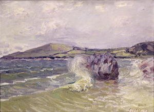 Reproduction oil paintings - Alfred Sisley - Lady's Cove, Wales, 1897