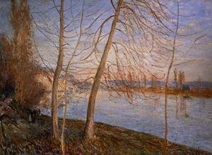 Reproduction oil paintings - Alfred Sisley - Winter Morning, 1878