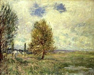 Reproduction oil paintings - Alfred Sisley - The Plain at Veneux-Nadon