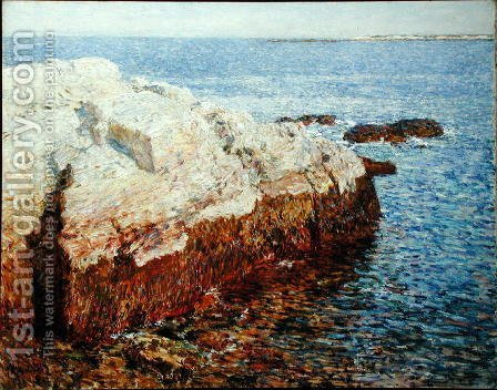 Childe Hassam: Cliff Rock, Appledore, 1903 - reproduction oil painting
