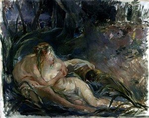 Reproduction oil paintings - Berthe Morisot - Jupiter and Callisto, after a painting by Boucher