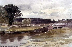 Reproduction oil paintings - Sir Henry Cole - From the Mill, Chilham