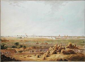 East View of Seringapatam on 15th May 1791, 1804