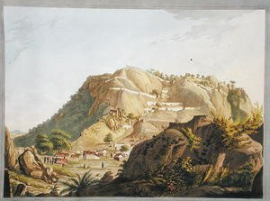 South-western view of Ootra-Durgum, 1804