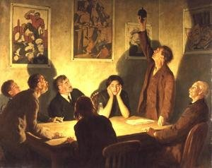 Reproduction oil paintings - John Maler Collier - The Brotherhood of Man